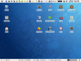 Screenshot di Zenwalk Linux 6.0