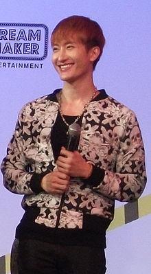 Zhou Mi  Break Down Fan Party Press Conference in Bangkok Zhou Mi Break Down