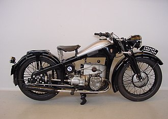 Zündapp - 1934 Zündapp flat twin K500 shaft-drive motorcycle