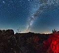 """""""Шумські персеіди"""" - метеорний потік Персеіди зі скелі Крашевського в ур.Шумське.jpg"""