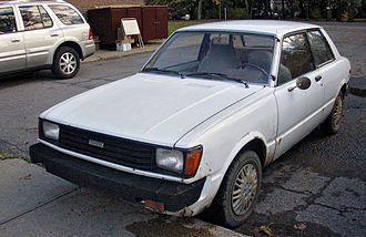 Toyota Tercel - 1981 Tercel two-door (North America, facelift version)
