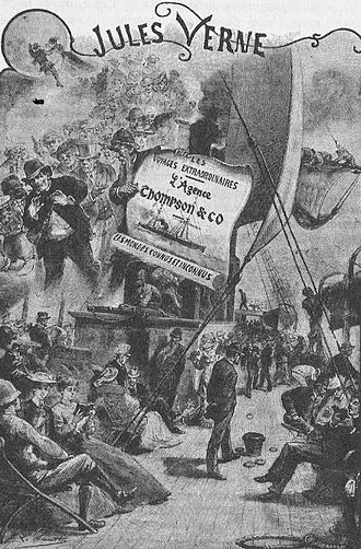 The Thompson Travel Agency - Frontispiece of the original edition
