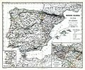 (Spruner-Menke, map 19) The Iberian peninsula at the start of the 16th century.jpg