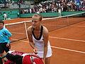 Ágnes Szávay at Roland Garros 2008-3.JPG