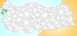 Çanakkale Turkey Provinces locator.jpg