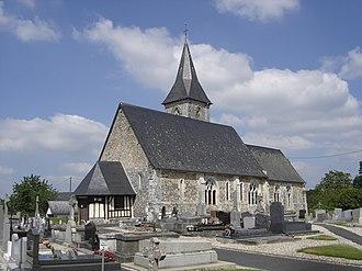 Selles, Eure - Image: Église Selles