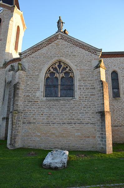 Église Saint-Bonnet de Toussieux.
