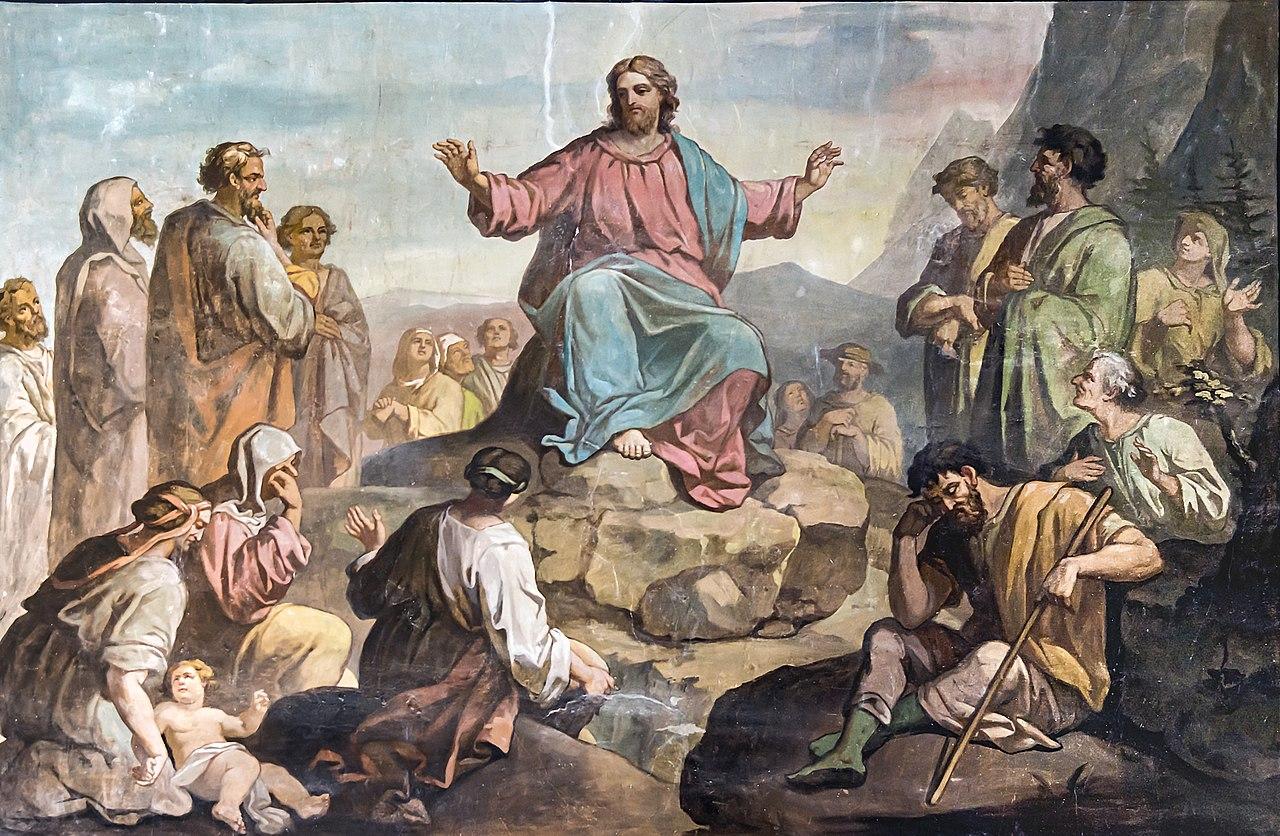 Église Saint-Martin de Castelnau-d'Estrétefonds - Le Sermon sur la montagne par Robert Arsène IM31000073.jpg