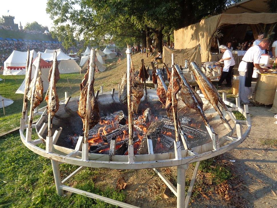 Šarani na rašljama u Koprivnici
