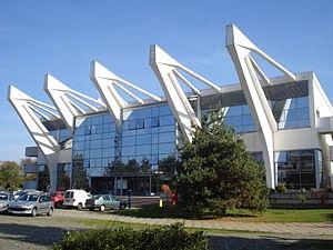 Športska dvorana Graditeljske škole, Čakovec - jugozapad