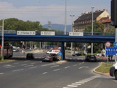 Kako doći do Šubićeva javnim prijevozom - O mjestu