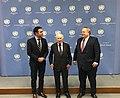 Συνάντηση ΥΠΕΞ N. Κοτζιά με τον ΥΠΕΞ πΓΔΜ N. Dimitrov και τον Προσωπικό Απεσταλμένο ΓΓ ΟΗΕ M. Nimetz στη Βιέννη (25.04.2018) (26842686737).jpg