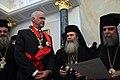 Συνάντηση με τον Πατριάρχη Ιεροσολύμων και πάσης Παλαιστίνης Θεόφιλο Γ' (4826410089).jpg