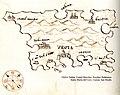 Χάρτης της νήσου Κρκ στην Κροατία - Antonio Millo - 1582-1591.jpg