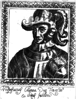 Vespasiano Colonna Italian condottiero