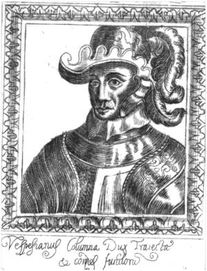 Vespasiano Colonna - Vespasiano Colonna.