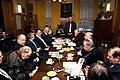 Глава Международного Шолоховского комитетаА. В. Черномырдин (в центре).JPG