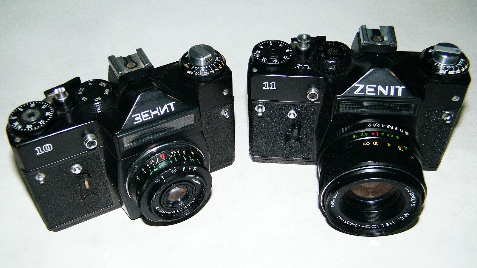 Какие фото получаются на камеру зенит