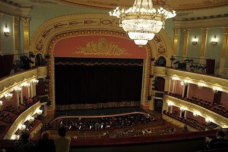 зал театра оперы и балета