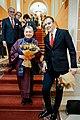 Людмила Улицкая и Алексей Сергунин на премьере оперы Доктор Гааз.jpg