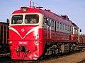 М62К-1612, Литва, Паневежский уезд, станция Паневежис (Trainpix 93778).jpg