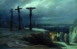 Vasily Petrovich Vereshchagin - Image: Ночь на Голгофе