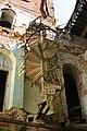 Палац Даховських, залишки спіральних сходів.jpg