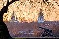 Персиковий захід сонця.Вид на Єлецький монастир.jpg
