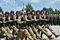Президент Петро Порошенко на церемонії випуску Харківського університету Повітряних Сил ім. Івана Кожедуба (27774786542).jpg