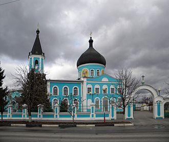 Novy Oskol - Assumption cathedral in Novy Oskol