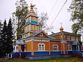 Церковь Преображения Важеозерского мужского монастыря, поселок Интерпоселок Олонецкого района Карелии.jpg