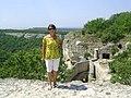 Чуфут-Кале. Мур фортеці з малою брамою.jpg
