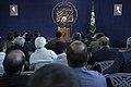 سخنرانی علیرضا پناهیان در جمع هیئت های مذهبی در قصر شیرین به مناسبت بیست و دوم بهمن ماه Alireza Panahian 46.jpg