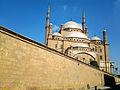 مسجد محمد علي من مدخل القلعة.jpg