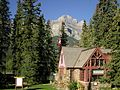 班夫國家公園入口 Entrance of Banff National Park - panoramio.jpg