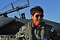 공군홍보대사 구자철 선수의 F-15K 하이택싱 체험 (8309634156).jpg
