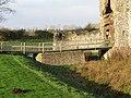 -2020-12-01 Bridge across the moat, Baconsthorpe Castle.JPG