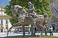 """00 0679 Altötting - Skulptur """"Der Wächter von Altötting"""".jpg"""