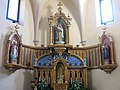 019 Església de la Nativitat (Cabacés), altar major.JPG