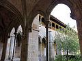 030 Sant Jeroni de la Murtra, claustre, angle sud-oest.JPG