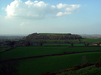 History of Somerset - Cadbury Castle
