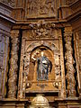 06e Olmos Peñafiel iglesia Santa Engracia retablo Ni.JPG