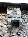 071 Casa de la Vall (Andorra la Vella), matacà, façana oest.JPG