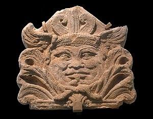 Antefix - Etruscan antefix from Vulci, 1st century BCE.