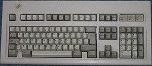 IBM PC keyboard - Image: 102 key Model M
