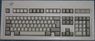 IBM PC keyboard - Image: 102 key Model M