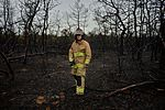 106th Rescue Wing firefighters check for hot spots 150821-Z-SV144-001.jpg