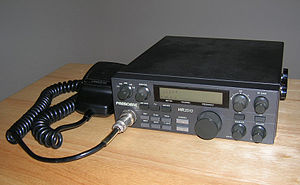 10-meter band - Uniden President HR2510A, a mobile 10-meter radio.