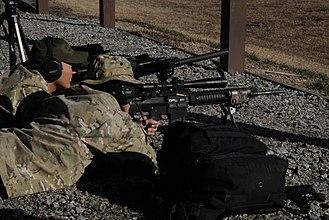 Knight's Armament Company SR-25 - Image: 110217 G 6349A 480 MSRT Precision Marksmen Observer Team