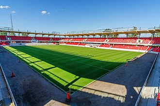 Östers IF - Myresjöhus Arena: Öster stadium 2012–